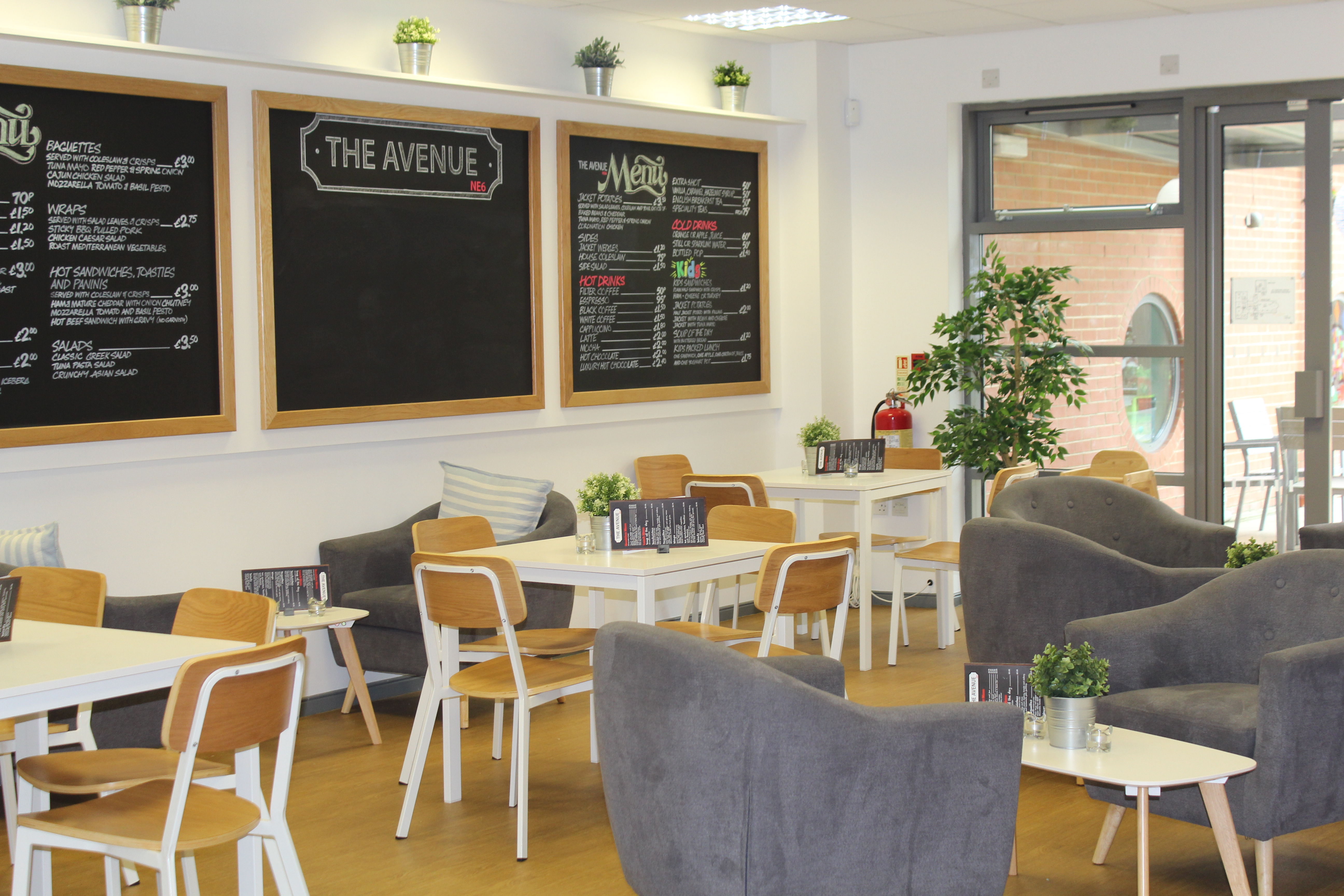 The Avenue Cafe St Martins Centre